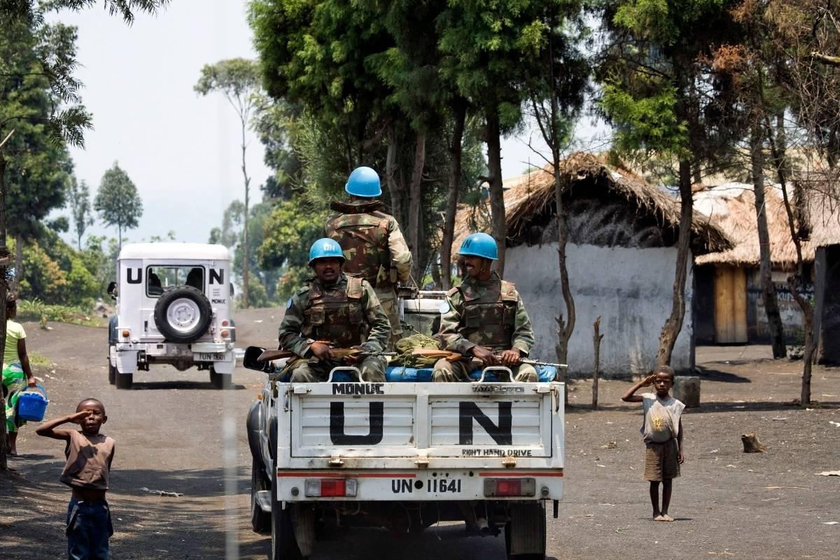 YK:n rauhanturvajoukot Kongossa ovat historian suurin YK-operaatio. YK-kuva/Marie Frechon