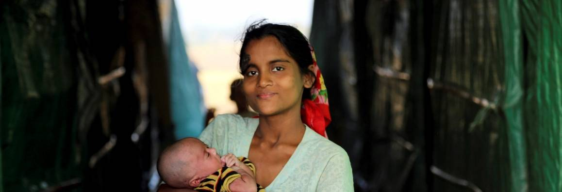 Monet rohingyalaiset elävät nykyään pakolaisleireillä. Kuva: YK-kuva/David Ohana.