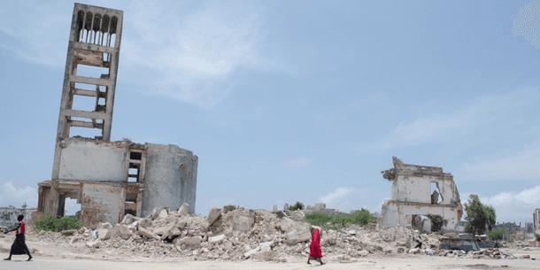 Al-Qaidalle uskollisuutta osoittaneet ryhmittyvät ovat aiheuttaneet tuhoa mm. Somaliassa. Kuva: IRIN News / Ahmad Mahmoud