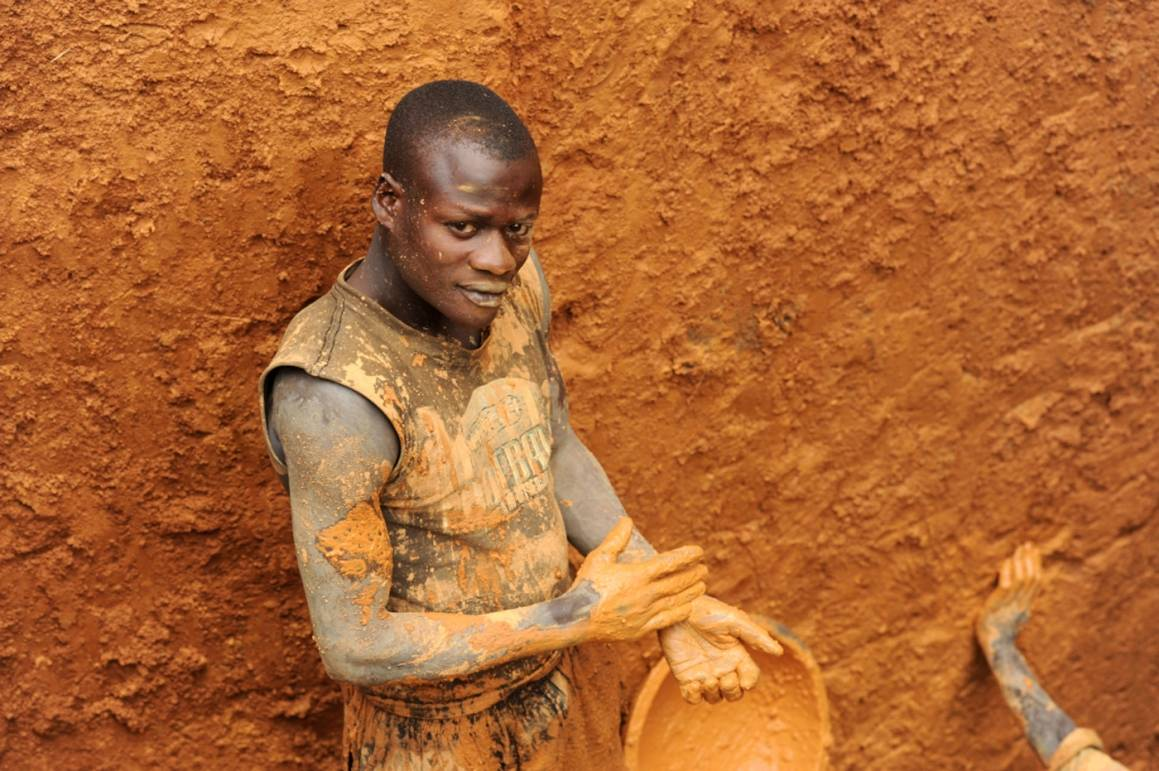 Kongon timanttivarat ovat yksi keskeinen syy maassa käytäviin konflikteihin. Kuva: IRIN/Guy Oliver