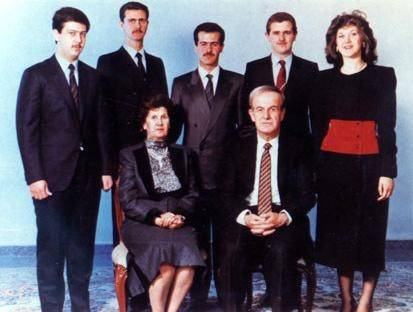 Assadin perhe on hallinnut Syyriaa rautaisella nyrkillä vuosikymmeniä. Kuva: Wikimedia Commons