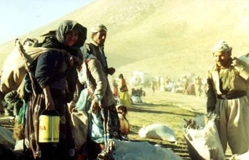 Monetkurdit joutuivat pakenemaan väkivaltaa Anfal-kampanjan aikana 1980-luvulla. Kuva: Jan Sefti/FlickrKurdere