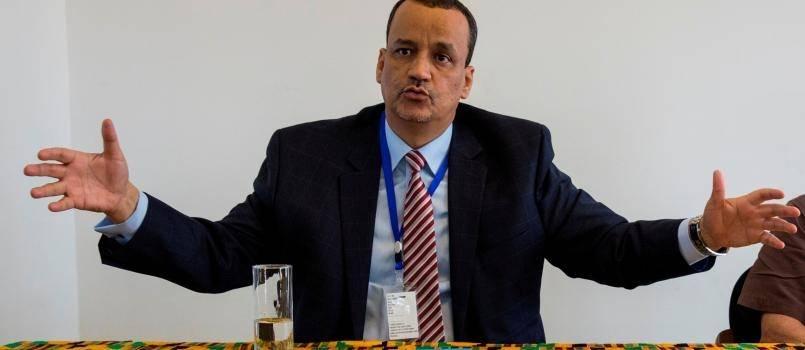 YK:n erityislähettiläs Ismail Ould Cheikh Ahmed lähetettiin Jemeniin huhtikuussa 2015 tavoitteena saada konfliktin osapuolet sitoutumaan rauhansuunnitelmaan. Kuva: UN Photo/ Martine Perret