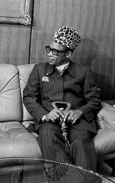 DR Kongos tidligere diktator Mobuto Foto: UN-PhotoSaw-Lwin-Mobuto