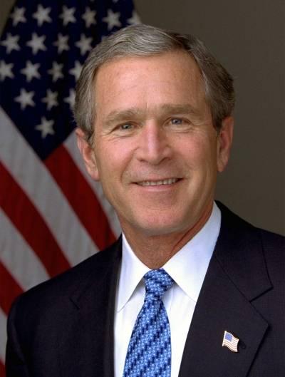 Yhdysvaltain presidentti George W. Bush aloitti terrorismin vastaisen sodan sen jälkeen, kun World Trade Centeriin tehtiin isku 11. syyskuuta 2001. Valkoisen talon kuva/Eric Draper