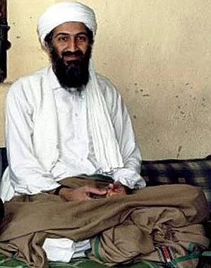 Osama bin Laden, al-Qaidan perustaja. Kuva: Hamid Mir/Canada Free Press.